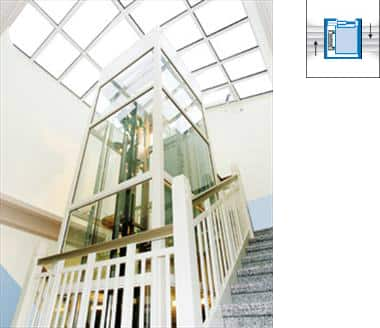 Esempi di installazione for Chiusura vano scala interno