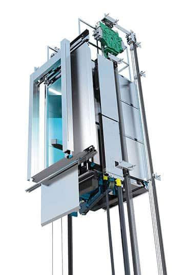 Ascensore senza locale macchina monospace kone - Mini ascensori da interno ...